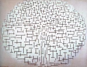 """Composition No. 10"" Piet Mondrian"